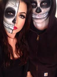 Skeleton Couple Halloween Costumes by Skeleton Couple Halloween 2014 Makeupbynik Makeupbynik