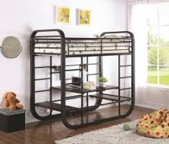 twin over twin full metal wood loft bunk bed with stairs trundle