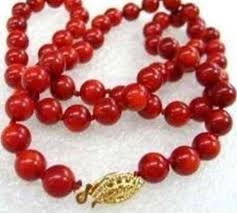 coral bead necklace images Coral necklace ebay JPG
