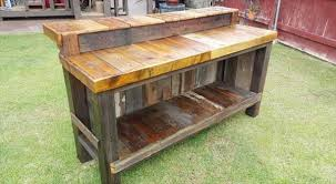 Wooden Bar Table Diy Bar Table Robinsuites Co