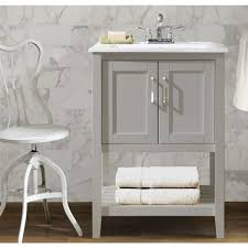 Bathroom Vanity 19 Inches Deep by Legion 24 Inch Ceramic Single Sink Grey Bathroom Vanity Free