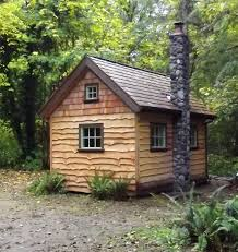 this is the first of three small cabins i am building this one is