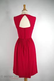 50s 60s raspberry red cocktail dress u2013 better dresses vintage
