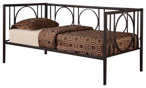 circle design tublar metal daybed contemporary daybeds by 2k