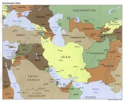 Southwest Asia And North Africa Map History