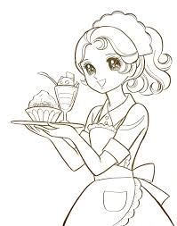 anime coloring pages free and manga pages printables inside manga
