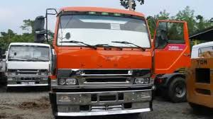 mitsubishi trucks 1990 original lhd fuso tractor head for sale good for trucking youtube