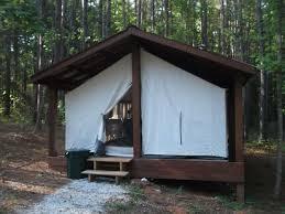 hickory cabin tent thus far farm sc 5 photos