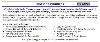 Electrical Project Engineer Resume Sample Project Engineer Resume Oil And Gas Resume For Your Job Application