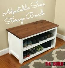 Storage Cubbie Bench White Shoe Rack Bench U2013 Amarillobrewing Co