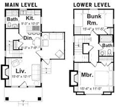 Visbeen House Plans Blue Cottage