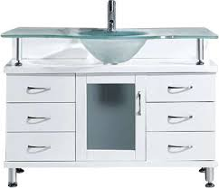 Glass Top Vanity Table Runion 48