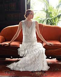 257 best art deco bridal gowns images on pinterest wedding