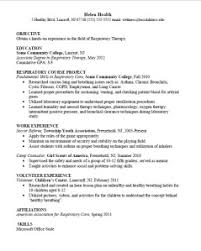 Science Resume Examples by College Student Career Connoisseur