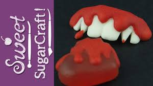 halloween candy diy vampire teeth and bleeding heart mini tutorial