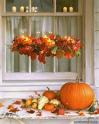 Fall Table Centerpieces by Fall Decor Crafts Martha Stewart