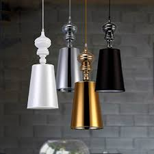 modern brief pendant lamps dining room pendant lights white black