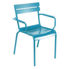 Turquoise Armchair Luxembourg Stacking Armchair Set Of 4 By Fermob Yliving
