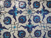 Ottoman Tiles Iznik Pottery