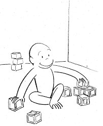 curiose george coloring pages 4 coloring kids