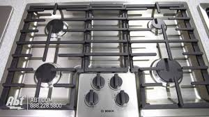 Bosch Cooktops Bosch 500 Series 30 Gas Cooktop Ngm5055ss Overview Youtube