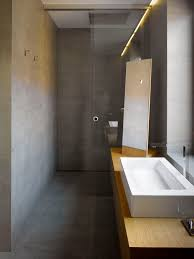 extreme minimalist bathroom of concrete and wood 1000x1333