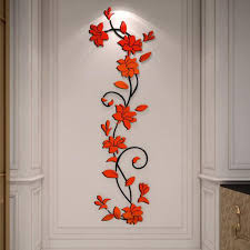 Free Shipping Flowers Aliexpress Com Buy Free Shipping Flower Sale Wall Stickers