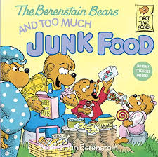 berenstein bears books berenstain bears and much junk food what s cooking with