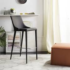 Brown Leather Bar Stool Leather Bar Stools