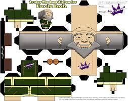 uncle iroh cubeecraft avatar airbender atla skgaleana