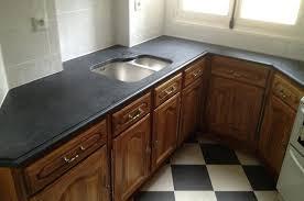 plan de travail cuisine sur mesure table de travail cuisine plan de travail granit noir du