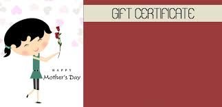 mothers day gift certificate template 17 professional and high