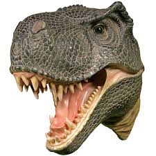 Dinosaur Home Decor by Wall Mounted T Rex Dinosaur Head Tyrannosaurus Rex Hanging Display