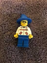 lego figure with blue wizard hat ebay