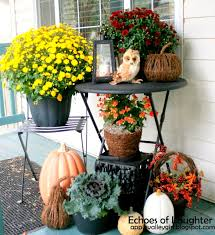 Outdoor Decorations For Fall - 33 best decorate deck for fall images on pinterest fall fall