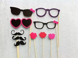 photo booth props for sale party photo booth props mustache glasses birthday party