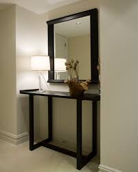 Narrow Foyer Table by Furniture Narrow Black Entryway Console Table Minimalist Design