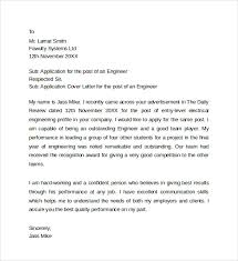 sample application cover letter templates 8 free documents in