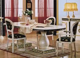 esstisch italienisches design esstisch ausziehbar essgruppe beige luxus klassik hochglanz
