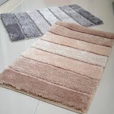 Luxury Bathroom Rug Exquisite Design Bathroom Floor Mats Lochas Soft Shaggy