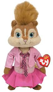 amazon com ty beanie baby brittany alvin and the chipmunks toys