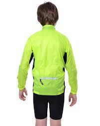 cycling windbreaker windbreaker 12 neon kids