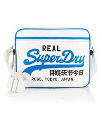 alumni bag new mens superdry mashed up alumni bag optic ebay