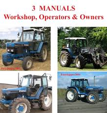 ford new holland 5640 6640 7740 7840 8240 8340 tractors service