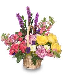 flower baskets basket arrangements pictures flower baskets flower shop network