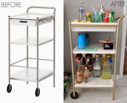 ikea wheeled cart kitchen center island ikea raskog cart turquoise kitchen island