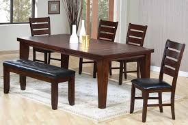 dining room tables bench one side dining room decor ideas and