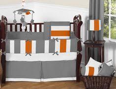Orange Crib Bedding Sets Sweet Jojo Designs Chevron 9 Crib Bedding Set Http