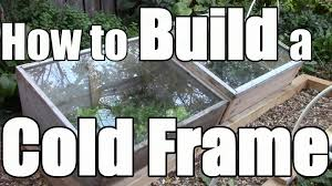 how to build a cold frame to extend your growing season youtube