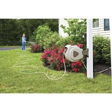 retractable hose reel hose and accessories lawn care from